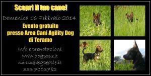 locandina 16 febbraio area cani